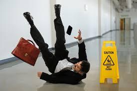 slip at work